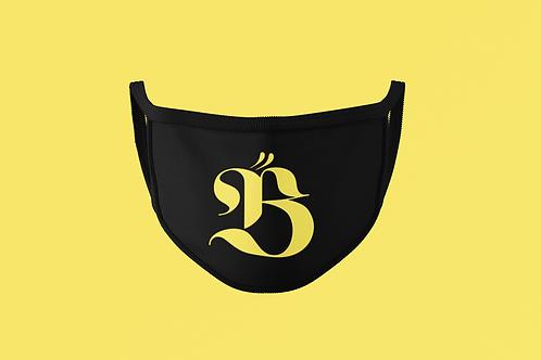 BEARYONCE FACE MASK (B Symbol)