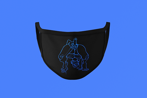 BLUE SHOW OFF FOR DADDY FACE MASK