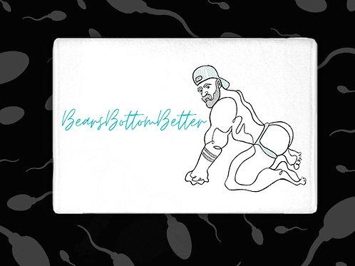 BEARS BOTTOM BETTER  CUM TOWEL