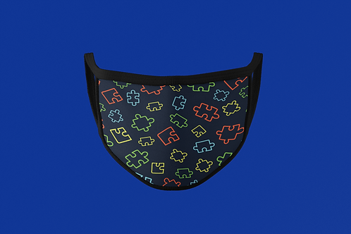 AUTISM AWARENESS FACE MASK