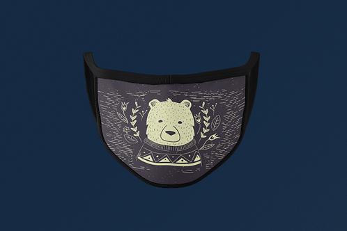 SWEATER POLAR BEAR FACE MASK