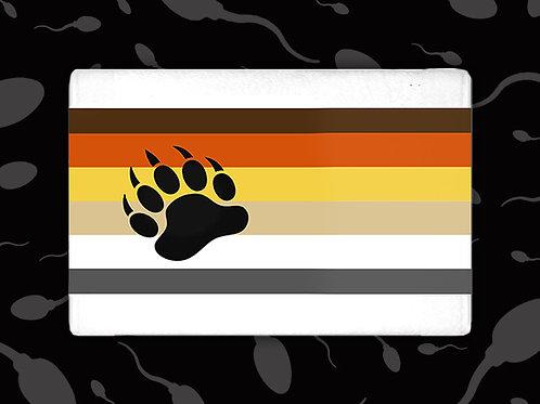 BEAR PRIDE (W/ PAW PRINT) CUM TOWEL
