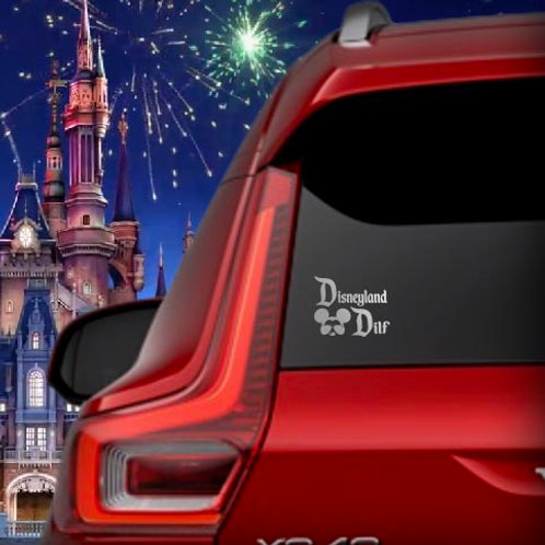 DISNEYLAND DILF DECAL