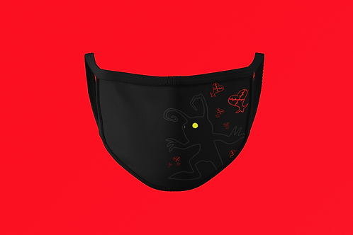 KH SHADOW HEARTLESS FACE MASK