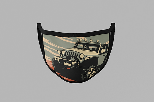 JEEP WRANGLER FACE MASK