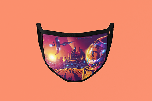 FUTURE SPACE CITY FACE MASK