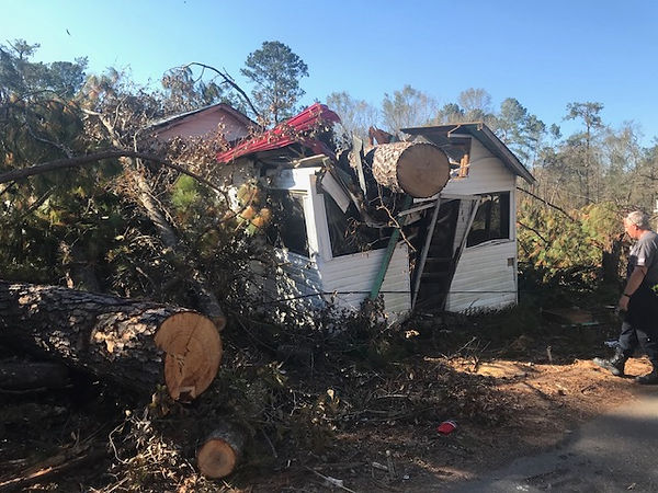 Clermont Fire serves in Panhandle after