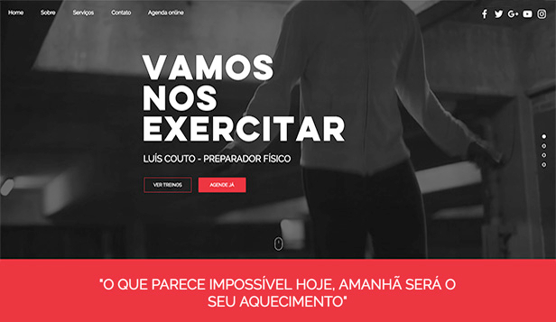 Mais Usados website templates – Preparador Físico