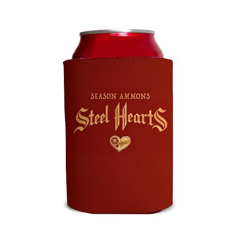Steel Hearts Koozie