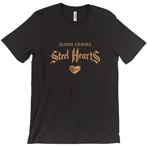 Steel Hearts T-Shirt (Black)
