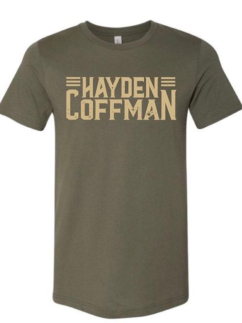 Hayden Coffman Logo Tee (Army Green)