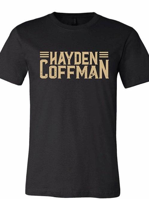 Hayden Coffman Logo Tee (Black)