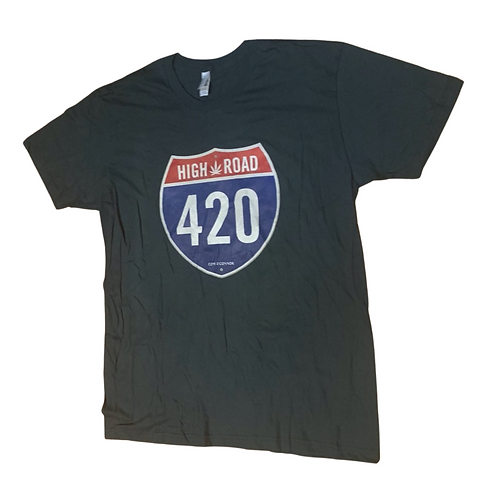 High Road T-Shirt (Dark Green)