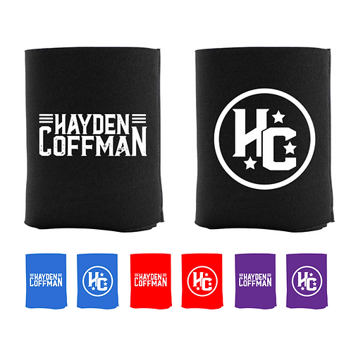 Hayden Coffman Logo Koozie