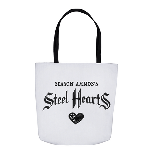 Steel Hearts Tote Bag