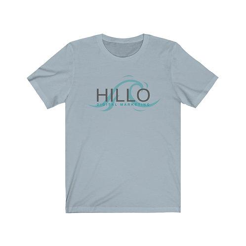Hillo Logo Unisex Jersey Short Sleeve Tee