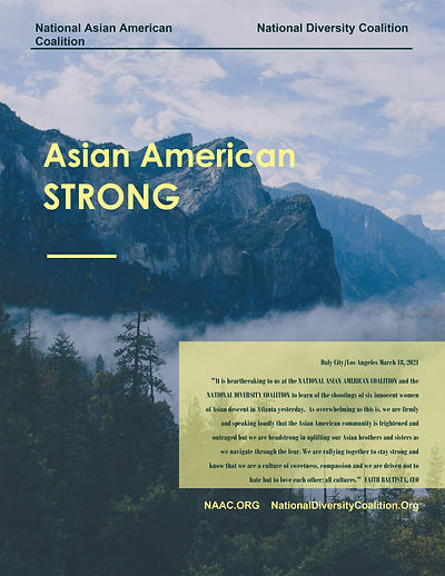 ASIAN AMERICAN STRONG Faith Bautista Sta