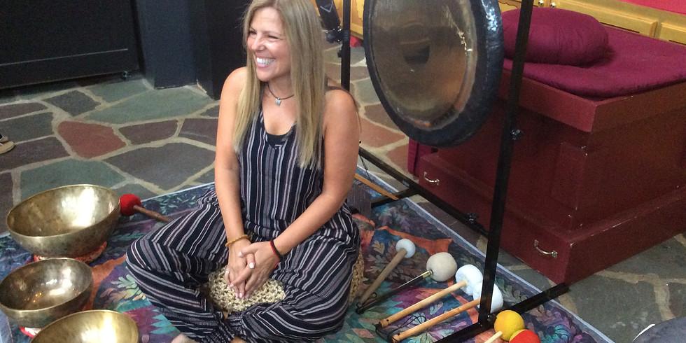 Outdoor Singing Bowl Meditation
