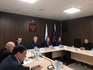 Алексей Кубарев выступил на Общественном Совете при прокуратуре Брянской области