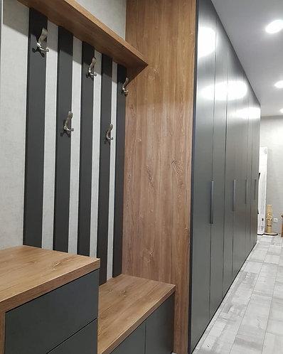 Шкафы на заказ по индивидуальным размерам Москва от МФВ