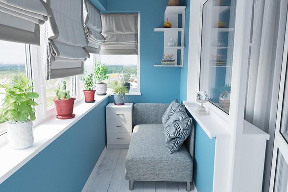 Мебель для балкона и лоджии на заказ в Москве от производителя МФВ