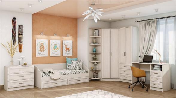 Мебель в детскую комнату на заказ в Москве от производителя МФВ