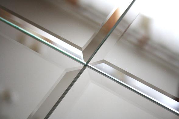 Зеркало с фацетом и алмазной гравировкой от производителя МФВ