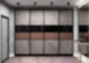 Встроенный шкаф купе на заказ во Владимире от производителя МФВ