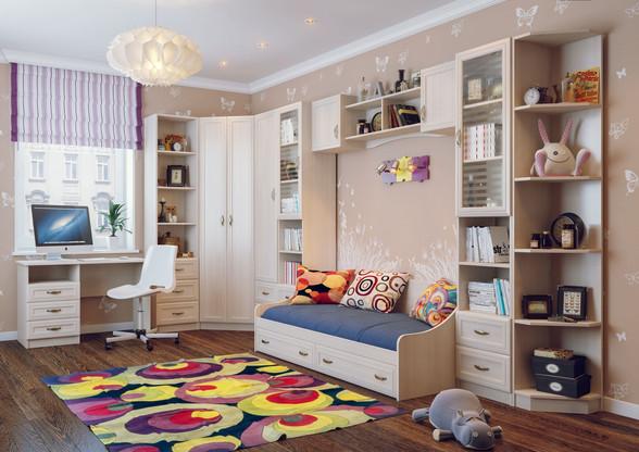 Мебель для детской комнаты на заказ от производителя МФВ