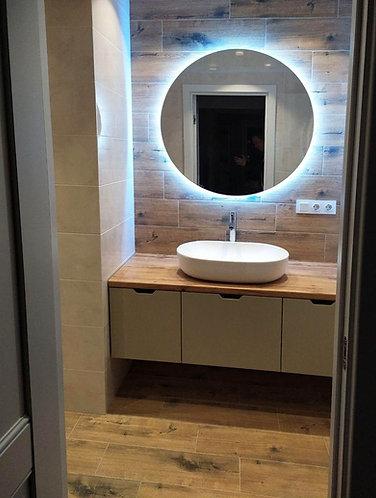 Мебель для ванной комнаты на заказ в Москве от производителя МФМ