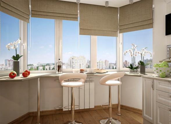 Мебель для балкона и лоджии на заказ во Владимире от производителя МФВ
