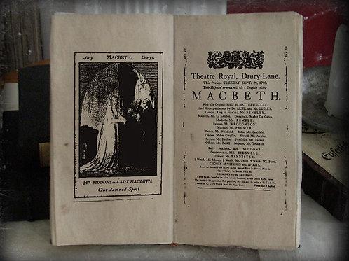 Macbeth. Playbill 1795