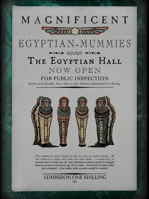 Magnificent Egyptian Mummies. 1821
