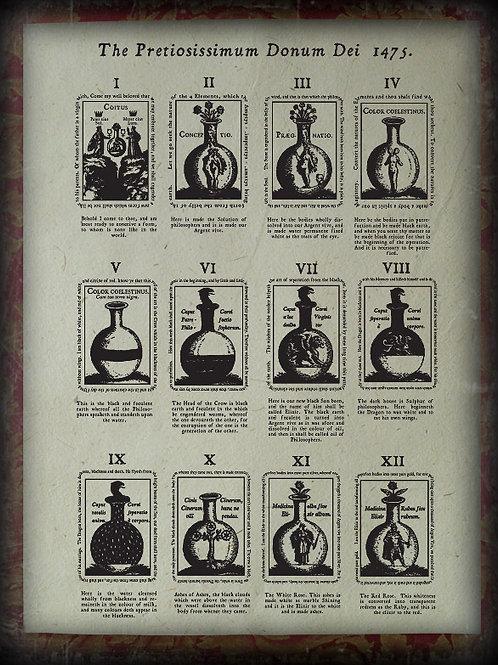 The Pretiosissimum Donum Dei 1475 & Anatomia Auri 1628