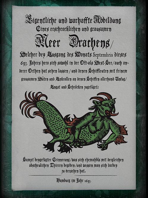 Meer Drachens. 1693