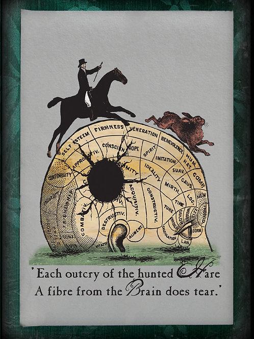 William Blake. Auguries of Innocence. Original Blake inspired Art: Hare
