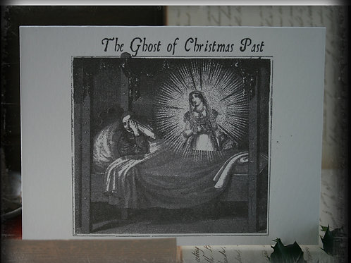 "A Christmas Carol Greeting Card. Ghost of Christmas Past (5""x7"")"