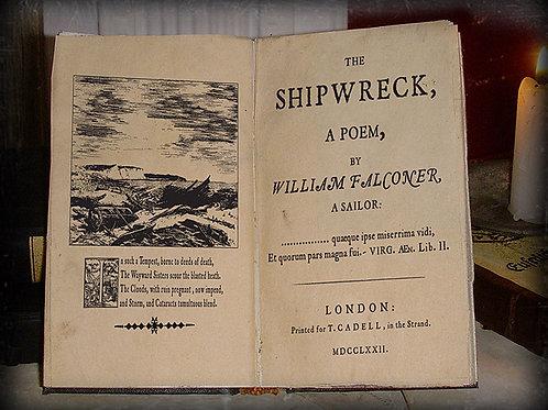 William Falconer. The Shipwreck. 1762