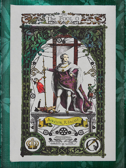 The Industrial Sublime Tarot: Major Arcana: The Fool to Justice (Color)