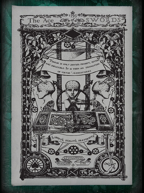 The Industrial Sublime Tarot: Minor Arcana: The Suit of Swords