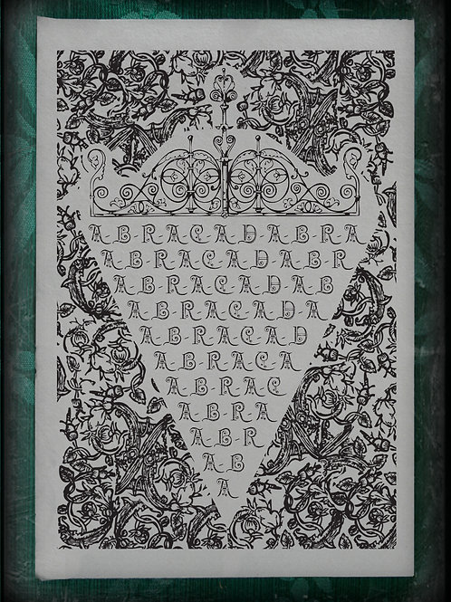 Abracadabra. 1665