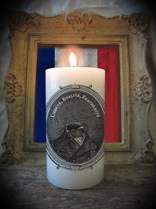 Vive La Republique Candle Design One