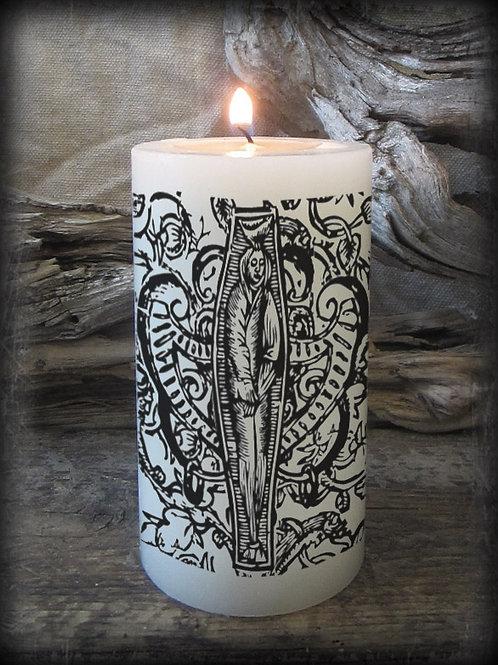 Apotropaic Coffin Candle.