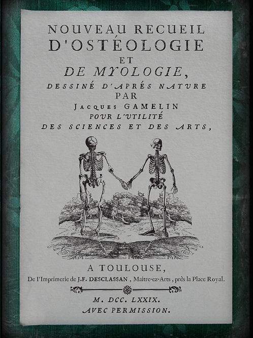 Nouveau recueil d'ostéologie et de myologie. 1779