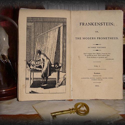 Mary Shelley. Frankenstein. 1818