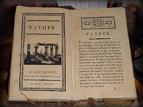 William Beckford. Vathek. 1787