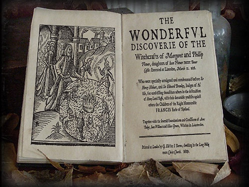 The wonderful discovery of the witchcrafts of Margaret and Phillip Flower. 1619
