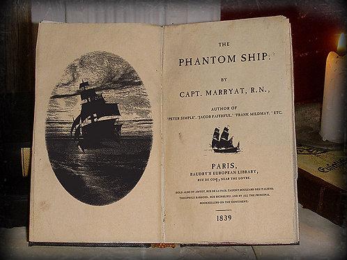 Captain Marryat. The Phantom Ship. 1839