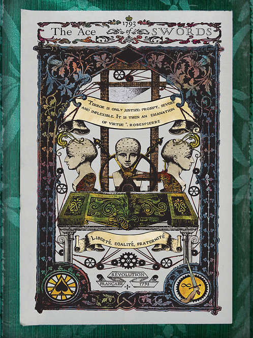 The Industrial Sublime Tarot: Ace of Swords