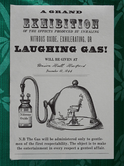 Laughing Gas Exhibition
